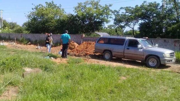 En la imagen un entierro en la provincia de Pinar del Río. (Ronald Suárez/Facebook)