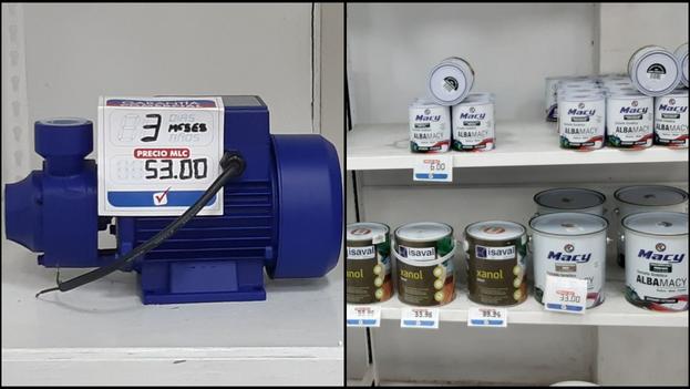 Tras la reapertura de varias tiendas se venden mercancías exclusivamente en MLC. (14ymedio)