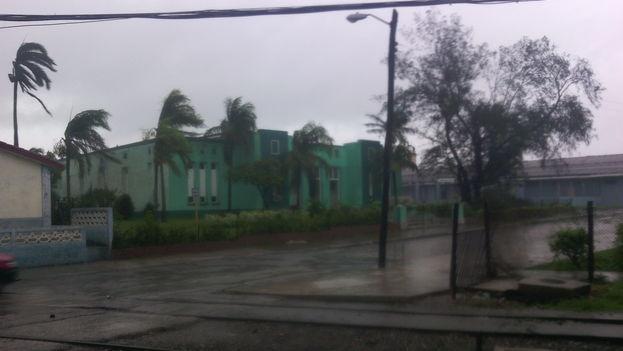 En algunas regiones de Camagüey los vientos han superado los 100 kilómetros por hora. (14ymedio)