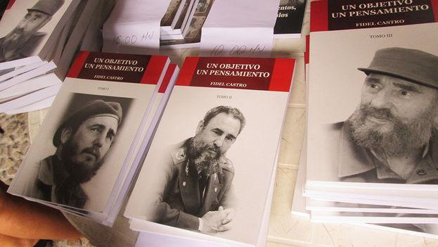 En la portada de cada tomo aparecen retratos que evidencian la transformación física y psicológica del personaje. (14ymedio)