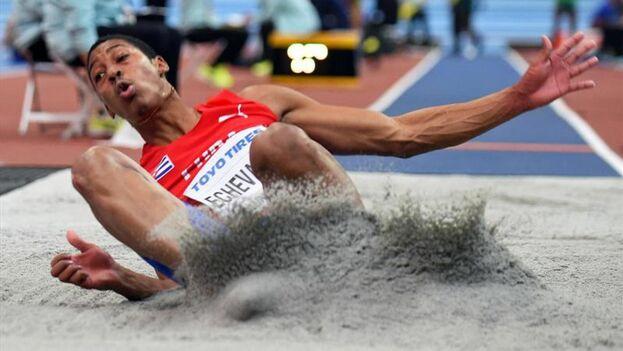 El saltador Juan Miguel Echeverría. (EFE)