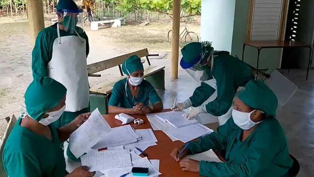 """""""El colapso sanitario no es culpa de los médicos"""", respondieron a Marrero a través de un video. (Captura)"""