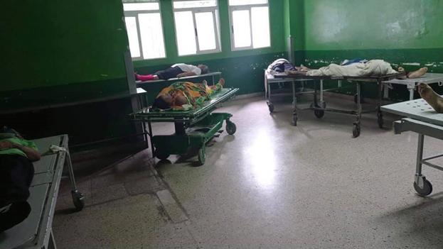 Con el colapso de los servicios sanitarios y fúnebres, han surgido decenas de denuncias de cadáveres que pasan horas y hasta días en una vivienda o una institución estatal. (Facebook)