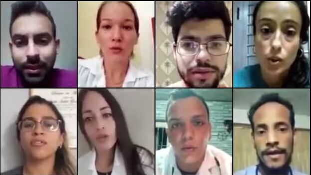 23 sanitarios holguineros exponen sus quejas en un nuevo video publicado este miércoles. (Collage)