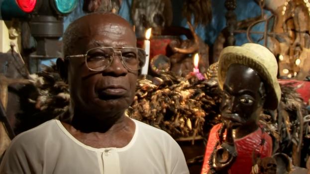 El santero Enrique Hernández falleció este jueves a los 99 años en el barrio La Hata, del municipio habanero Guanabacoa. (YouTube)