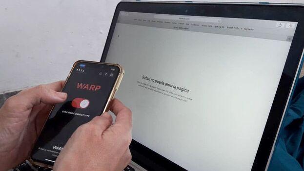 Los servicios de VPN son ampliamente usados por los cubanos para burlar la censura. (14ymedio)