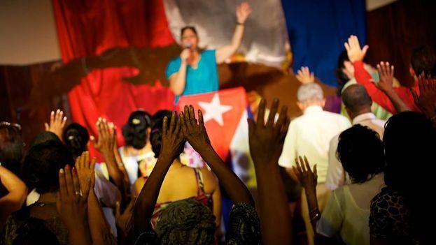 """El dios cubano puede estar sujeto a sufrir las consecuencias del """"brazo secular"""" que es la Seguridad del Estado. (EFE)"""
