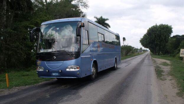 La suspensión del transporte interprovincial será hasta el próximo 30 de septiembre. (Radio Televisión Martí)