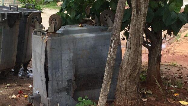 Muchos tanques han dejado de estar en condiciones por los vándalos que reutilizan sus piezas o materiales. (14ymedio)