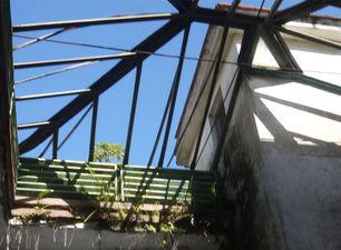 Algunos tejados han desaparecido