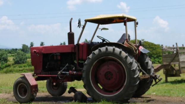 Un tractor de La Isleña.