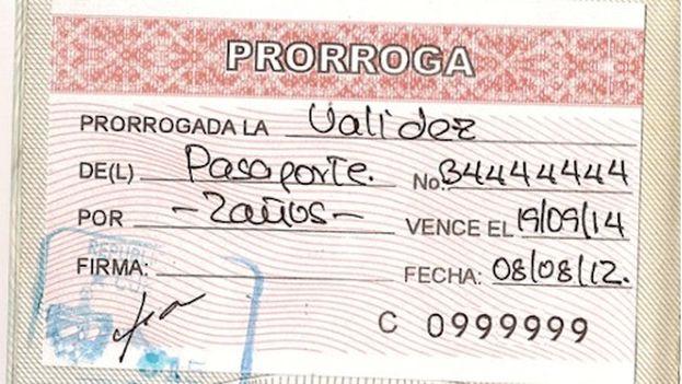 Algunos de los trámites que realiza el consulado cubano son la renovación y prorrogación del pasaporte. (Cubatravel)