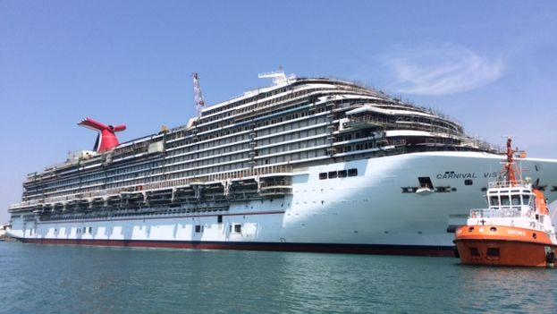 Una embarcación de la compañía estadounidense de cruceros Carnival. (Carnival)