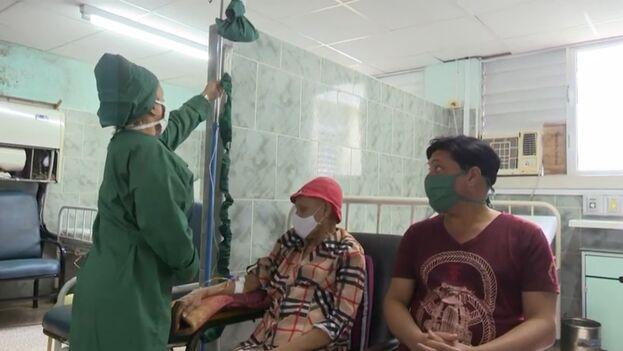 Los pacientes deben ser trasladados a Santa Clara para continuar sus tratamientos. (Captura)