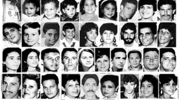 Las víctimas reconocidas del hundimiento del 13 de Marzo