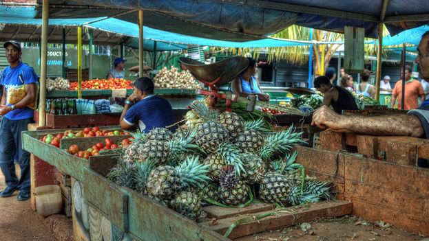 Los vendedores que violen los precios topados en Villa Clara se exponen a medidas severas como decomisos y retiro de la licencia. (Angel M.)