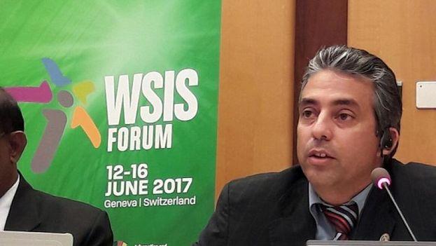 """El viceministro ha calificado como un """"reto"""" la aplicación de una política en materia de ciberseguridad. (MINCOM)"""