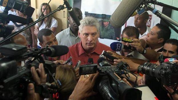 El primer vicepresidente de Cuba, Miguel Díaz-Canel. (EFE)