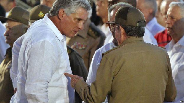El primer vicepresidente cubano, Miguel Díaz-Canel es uno de los candidatos a ocupar la presidencia. (EFE)