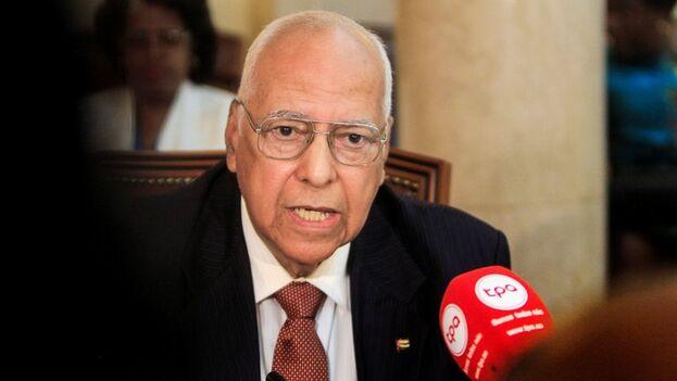 El viceprimer ministro cubano, Ricardo Cabrisas. (EFE/Ampe Rogerio/Archivo)