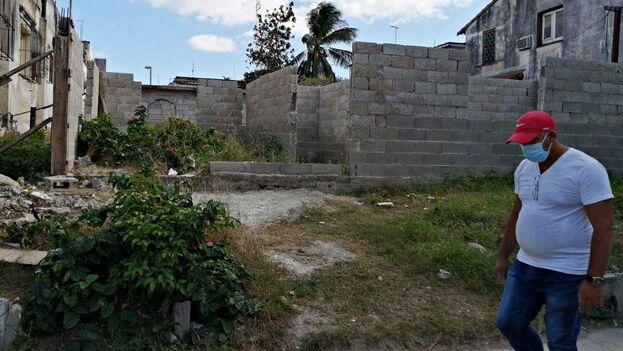 Más de la mitad de las viviendas construidas en Cuba, entre enero y octubre de 2020, fueron las hechas por particulares. (14ymedio)