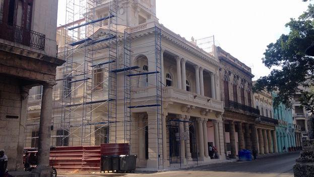 Nueva sede de la Alianza Francesa en Prado y Trocadero. (Luz Escobar/14ymedio)