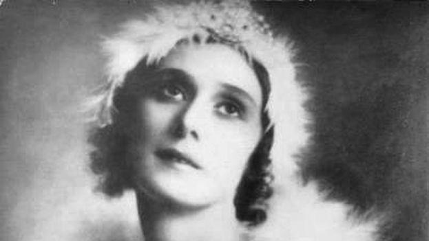 Anna Pávlova.