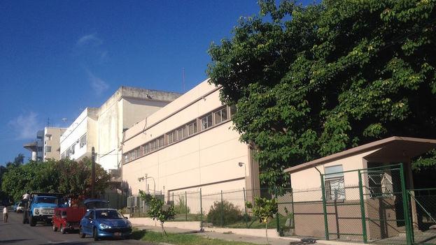 Antiguos laboratorios fílmicos del Instituto Cubano de Arte e Industria Cinematográficos (ICAIC), que servirán ahora de cine. (14ymedio)