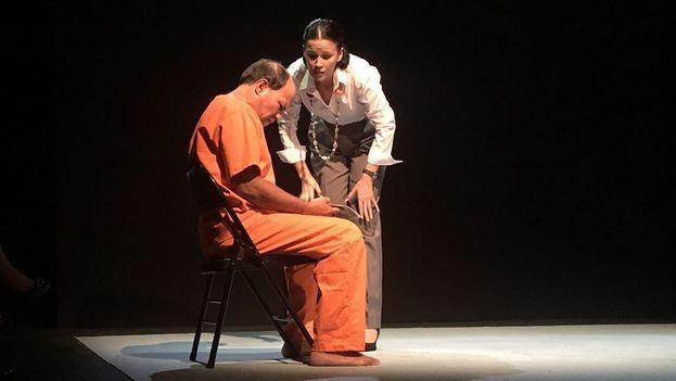 La compañía Argos Teatro, dirigida por Carlos Celdrán, acaba de romper el silencio en la escena cubana ante la pedofília. (14ymedio)