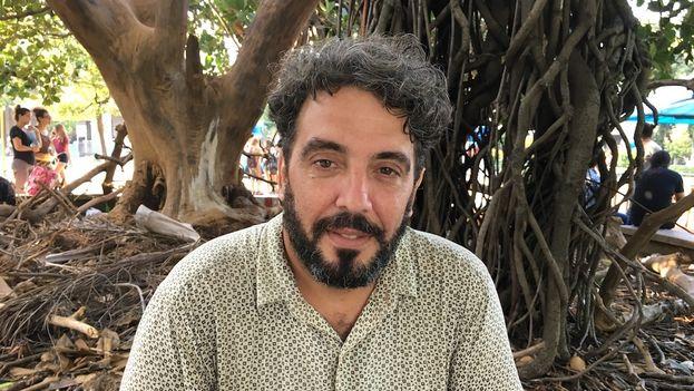 El trovador cubano Ariel Díaz. (14ymedio)
