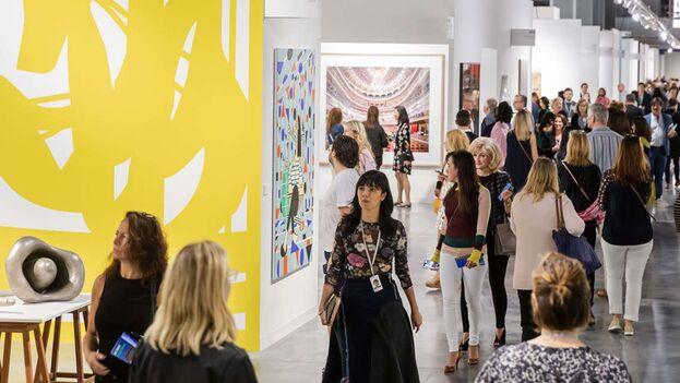 Unas 40 de las galerías presentes en esta edición de Art Basel son de América Latina, España o Portugal. (Art Basel).