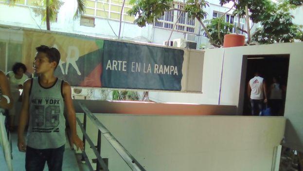 Arte en La Rampa. (14ymedio)