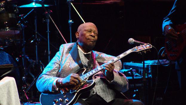 B.B: King navegó entre el blues, el swing y el pop más comercial con pasmosa facilidad. (FLICKR/CC)