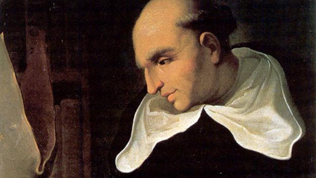 Fray Bartolomé de las Casas denunción ante la Corona española el sometimiento y la esclavitud de los indios por parte de los colonos en el siglo XVI. (Anónimo)