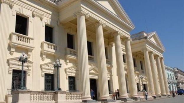 La Biblioteca Provincial Martí de Villa Clara.