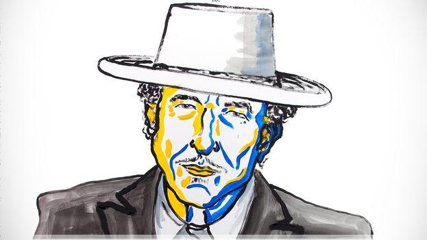 Bob Dylan ha creado una nueva expresión poética dentro de la gran tradición de la canción americana, según la academia sueca. (@NobelPrize)