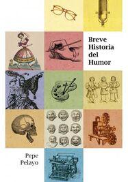 Carátula del libro 'Breve historia del humor'. (Independently published)