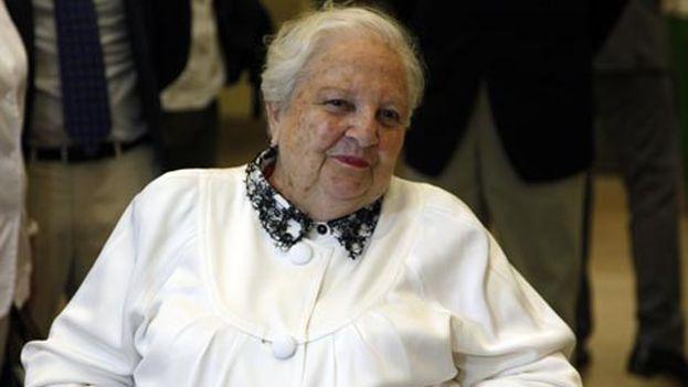 Carmen Balcells, en una imagen de archivo del Instituto Cervantes