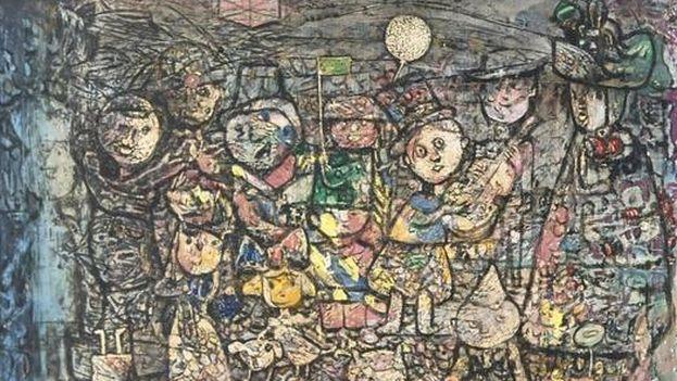 'Carnaval Infantil', de Eduardo Abela.