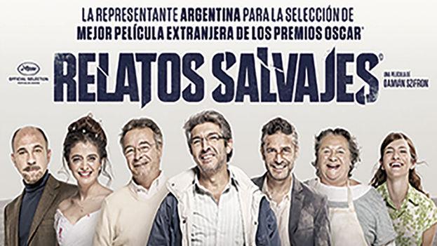 Cartel de la película de Damián Szifron, 'Relatos Salvajes'