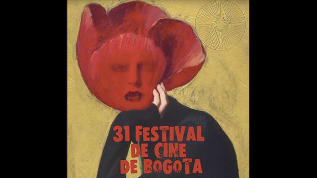 Cartel de la 31 edición del Festival de Cine de Bogotá