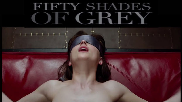 Cartel del filme 'Cincuenta sombras de Grey'