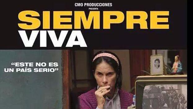 Cartel del filme 'Siempreviva'.