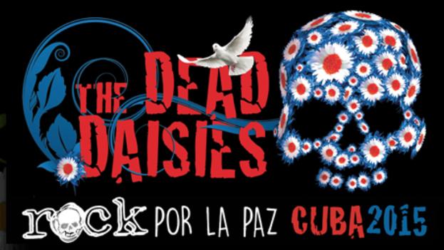 Cartel de promoción para el concierto en La Habana