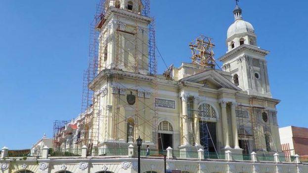 La Catedral de Santiago de Cuba. (14ymedio)