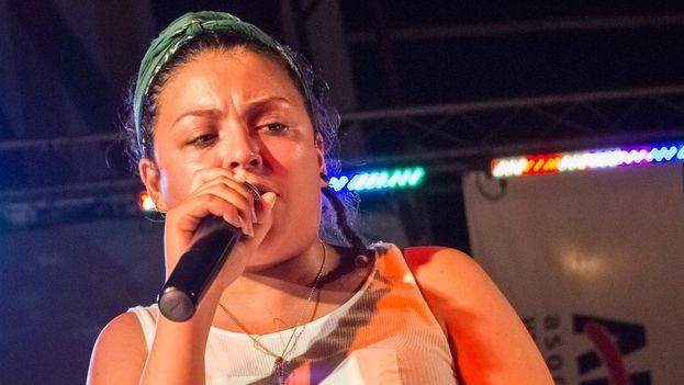 La rapera cubana Rashel Cervantes, 'Rapshela', no puedo presentarse en el Festival Trakean2 al no recibir la autorización por ser residente en el extranjero. (Facebook)