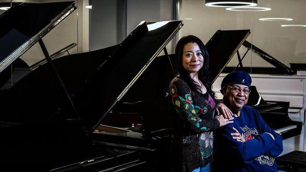 Chucho Valdés se presenta este sábado en Madrid en un concierto junto a la japonesa Mine Kawakami. (EFE)