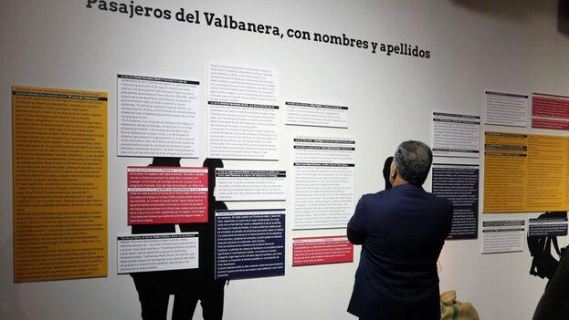 El Museo Elder de la Ciencia de Las Palmas de Gran Canaria inauguró este martes la exposición Valbanera, 100 años en la memoria. (EFE)