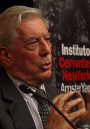Conversatorio Mario Vargas Llosa, 10 años del Premio Nobel. (Instituto Cervantes)