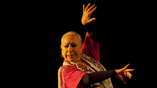 La bailaora española Cristina Hoyos. (Augusto Starita/Ministerio de Cultura de Argentina)